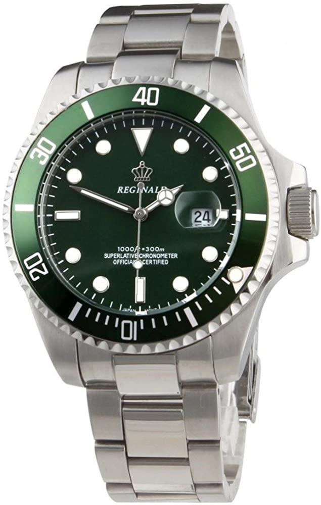 Reginald orologio sportivo con quadrante verde
