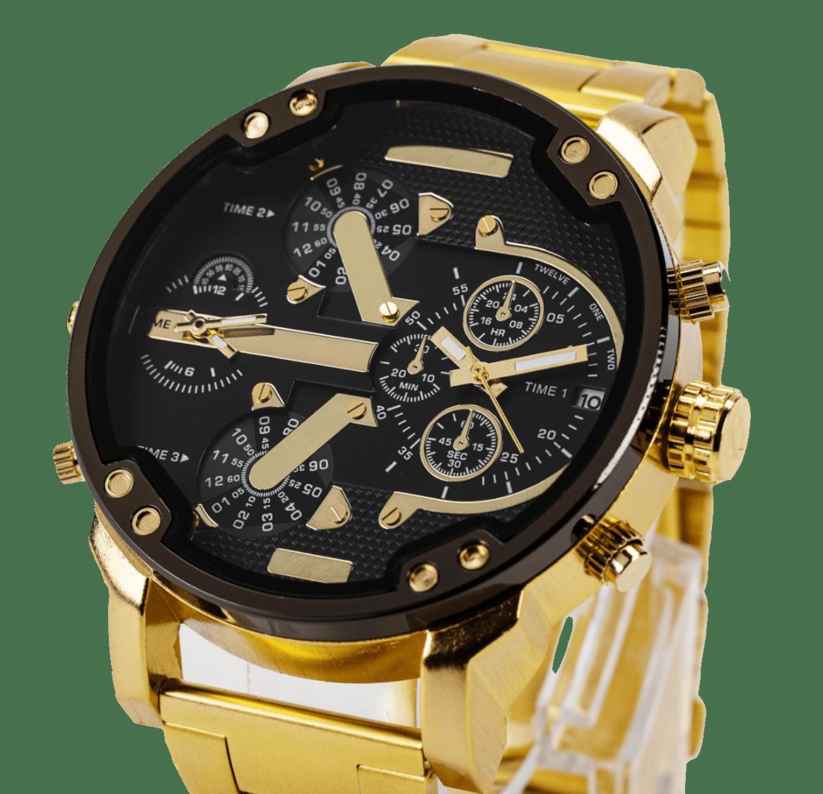Orologio Quarzo Golden Watch